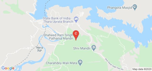 Shaheed Ram Singh Pathania Mandir, Dhar Kalan, Punjab, India