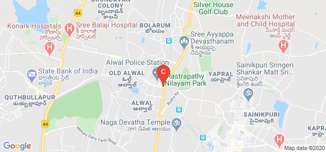 Synergy Degree College, Temple Alwal Road, Srinivasa Nagar Colony, Anand Rao Nagar, Alwal, Secunderabad, Telangana, India