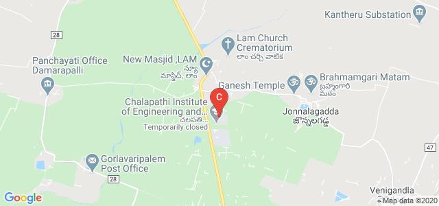 CLPT, Chalapathi Institute of Pharmaceutical Sciences, Guntur, Andhra Pradesh, India