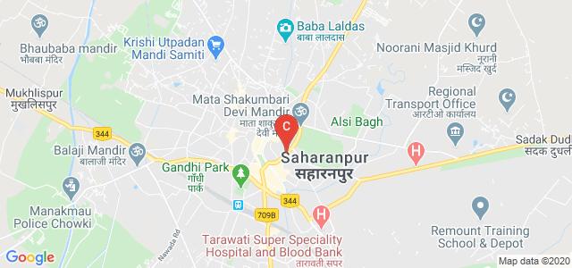 Mata Shakumbhari Devi Rd, Jwala Nagar, Saharanpur, Uttar Pradesh 247001, India
