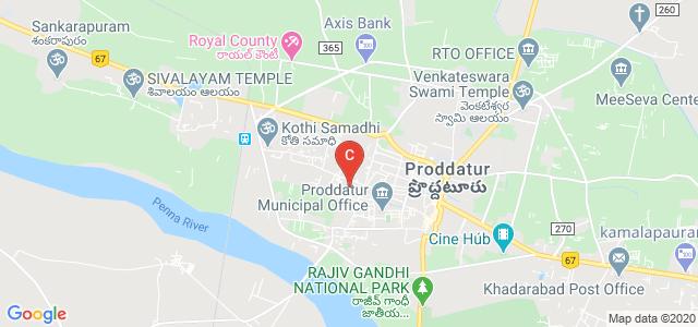 SCNR Government College, Dorasanipalli Road, Dorasanipalli, Proddatur, Andhra Pradesh, India
