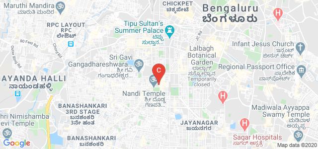 BMS College for Women, Bugle Rock Road, Gandhi Bazaar, Basavanagudi, Bangalore, Karnataka, India