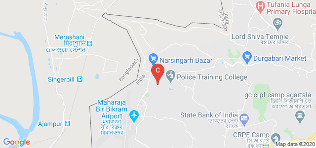 Bhavans Tripura College of Teacher Education, Border Road, Narsingarh, Singarbil, Tripura, India