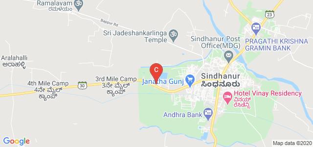Government Degree College, Sindhanur, Karnataka, India