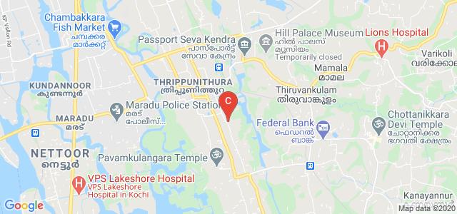 Government College Tripunithura, Market Road, Mekkara, Thrippunithura, Kochi, Kerala, India