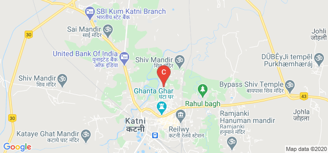Katni Arts & Commerce College (Chaddha College), Saraswati School Road, Nai Basti, Shiv Nagar, Katni, Madhya Pradesh, India