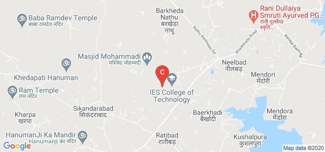 IES Institute of Pharmacy, IES Campus, Ratibad Rd, Bhopal, Madhya Pradesh 462044, India