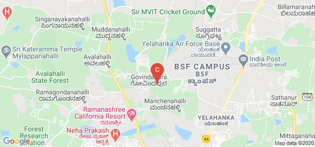 Nitte School of Architecture Planning & Design, BSF Campus, Yelahanka, Govindapura, Gollahalli, Yelahanka, Bangalore, Karnataka, India