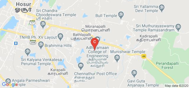 M.G.R College, Kumudepalli, Hosur, Tamil Nadu, India