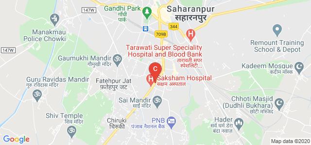 Saharanpur - Delhi Road, Avas Vikas Colony, PoliceLine, Saharanpur, Uttar Pradesh 247001, India