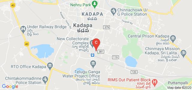 Government College For Men, Railway Colony, Kadapa, Kadapa, Andhra Pradesh 516004, India