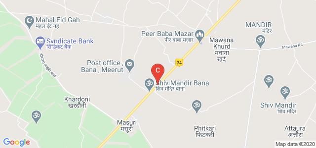 MAHENDRA INSTITUTE OF TECHNOLOGY, Mawana Road, Meerut, Uttar Pradesh, India