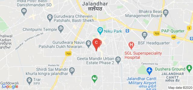 Innocent Hearts College of Education, Model Town Main Road, Dada Nagar, Model Town, Jalandhar, Punjab, India