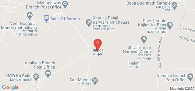 Baloda, Jhunjhunu, Rajasthan, India