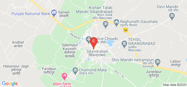 Mahamaya Chameli Devi Degree College Educational Hub, BIRONDI, BLOCK & TAHSIL, Teacher Colony, Sikandrabad, Uttar Pradesh, India