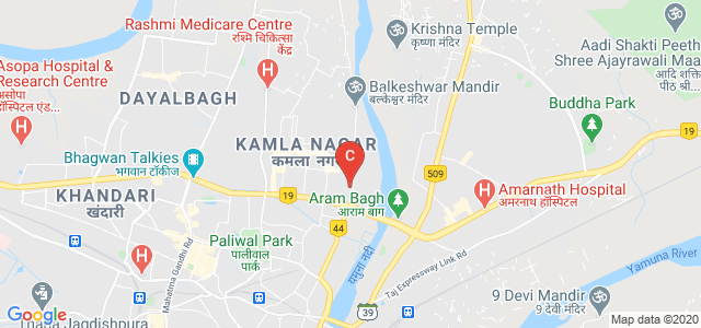 Sant Ramkrishna Kanya Mahavidyalaya, Balkeshwar Road, Near Central Bank, Ghatwasan, Shivpuri, Agra, Uttar Pradesh, India