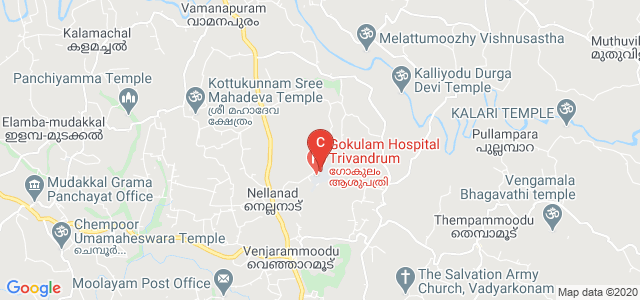 Sree Gokulam Medical College And Research Foundation, Aalamthara - Bhoothamadakki Road, Venjaramoodu, Kerala, India