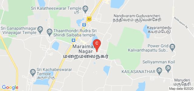Maraimalai Nagar Bus Station, Maraimalai Nagar, Tamil Nadu, India