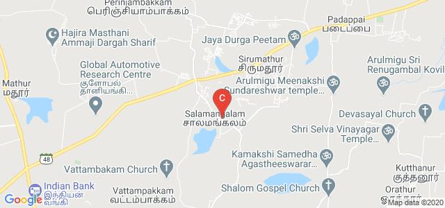HIET polytechnic, Serappanachery, Salamangalam, Tamil Nadu, India