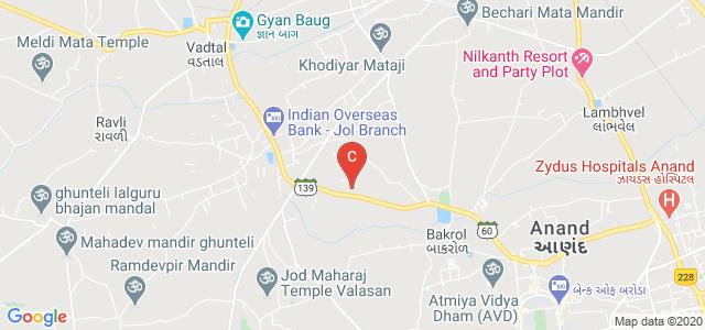 Sardar Patel College of Engineering, Anand, Gujarat, India