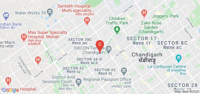 MCM DAV College Road, 36A, Chandigarh, India