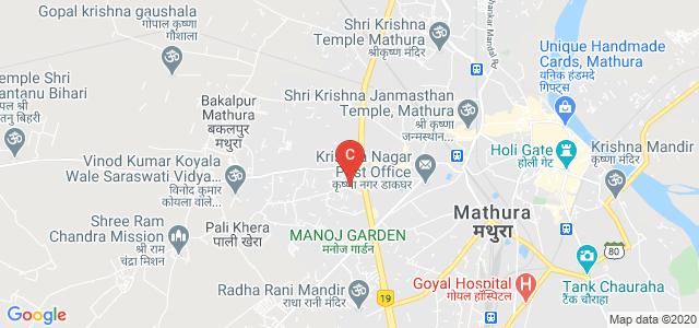 Shri Girraj Maharaj College, Goverdhan Rd, chaurah, Mathura, Uttar Pradesh, India