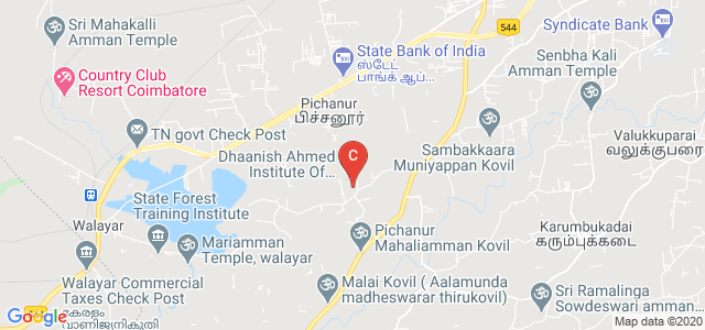 Dhaanish Ahmed Institute of Technology, KG Chavadi, Pichanur, Coimbatore, Tamil Nadu, India