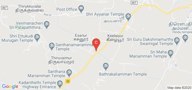 Haji Sheik Ismail Engineering College, Taluk, Thirukkuvalai, Tamil Nadu, India