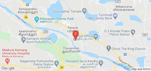 Mangayarkarasi College of Engineering, Tamil Nadu, India