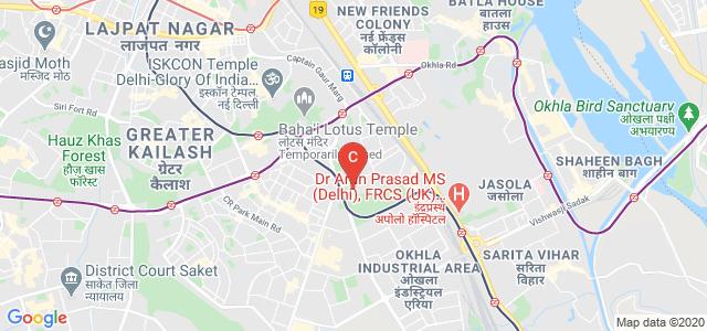 Banarsidas Chandiwala Institute of Information Technology, Ma Anandmayee Marg, Shyam Nagar, Kalkaji, New Delhi, Delhi, India
