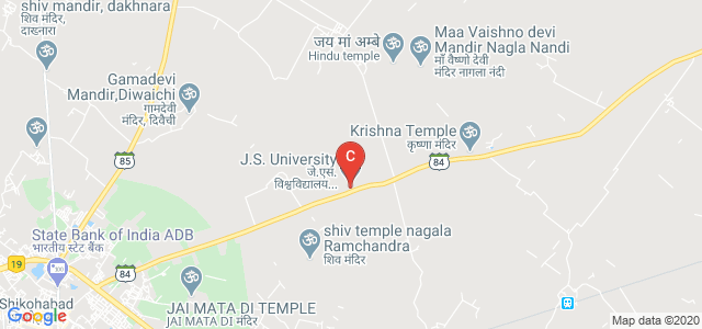 J.S. University, Shikohabad, Firozabad, Bhongoan - Mainpuri - Shikohabad Road, Shikohabad, Uttar Pradesh, India
