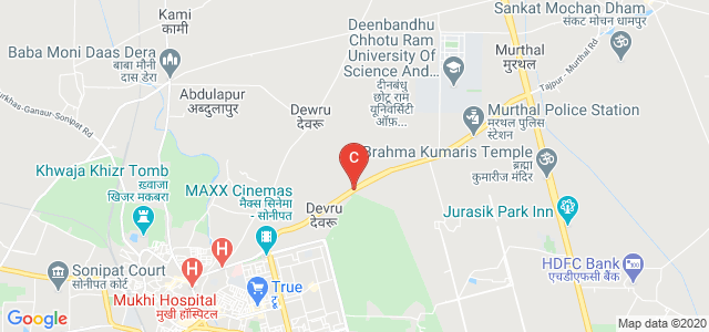 GVM Institute of Technology and Management, Murthal Road, Rajiv Gandhi Colony, Sonipat, Haryana, India