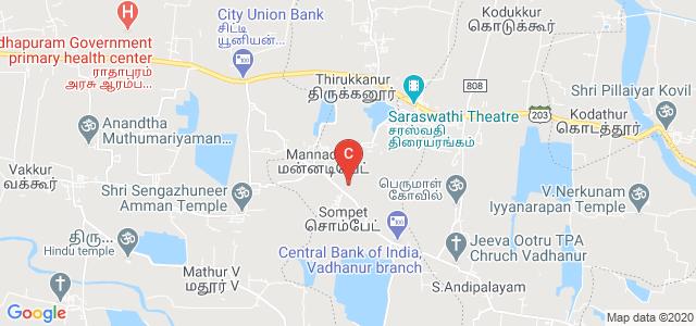 Shri Krishnaa College of Engineering and Technology, Mannadipet, Puducherry, India