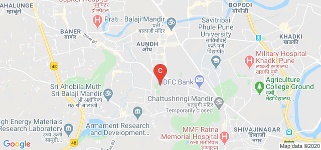 Indian Institute of Science Education and Research (IISER), Dr. Homi Bhabha Road, Ward No. 8, NCL Colony, Pashan, Pune, Maharashtra, India