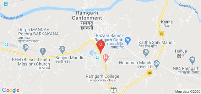Ramgarh Cantt, Ramgarh, Jharkhand 829122, India