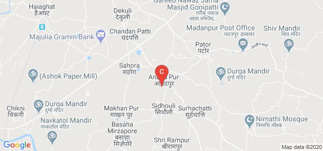 M.R.S.M. College Anandpur, Anandpur, Sahora, Darbhanga, Bihar, India