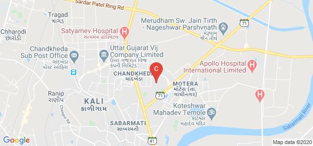 Graduate School of Management Studies (GSMS), Gujarat State Highway 41, Nigam Nagar, Chandkheda, Ahmedabad, Gujarat, India