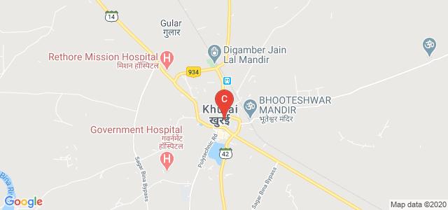 Khurai, Sagar, Madhya Pradesh 470117, India