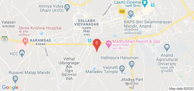 Shri I.J.Patel B.Ed. College, Vithal Udyognagar, GIDC, Anand, Gujarat, India