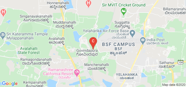 Nitte School of Fashion Technology & Interior Design, BSF Campus, Yelahanka, Bengaluru, Karnataka, India