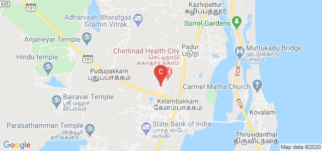 Chettinad Hospital And Research Institute, SH 49A, Kelambakkam, Tamil Nadu, India