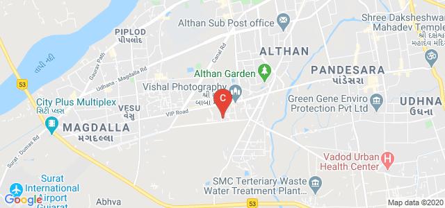 Bhagwan Mahavir Education Foundation, Bharthana Road, Vesu, Surat, Gujarat, India