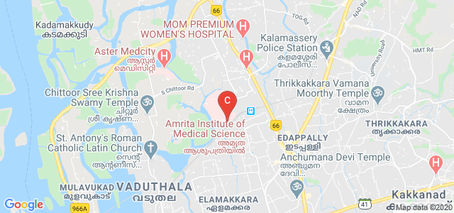 Amrita School of Medicine, Amrita Nagar, Edappally, Kochi, Kerala, India