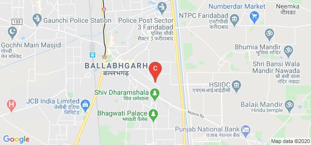 Aggarwal College Ballabgarh, Sector 2 Road, Ballabhgarh, Faridabad, Haryana, India