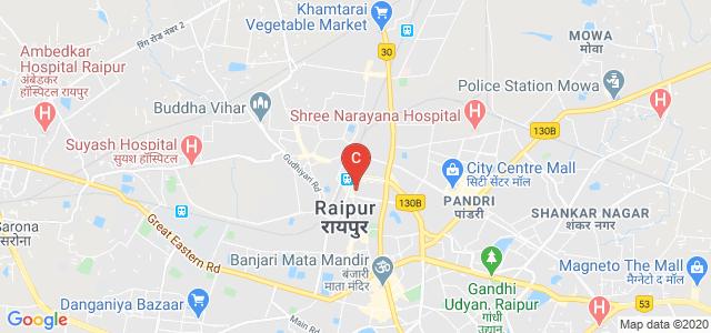 Mahatma Gandhi College, Raipur, Station Road, Behind Gurudwara, Nahar Para, Station Road, Moudhapara, Raipur, Chhattisgarh, India