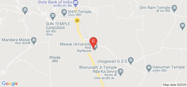 Mewar School of Engineering and Technology, NH 79, Jojron Ka Khera, Rajasthan, India