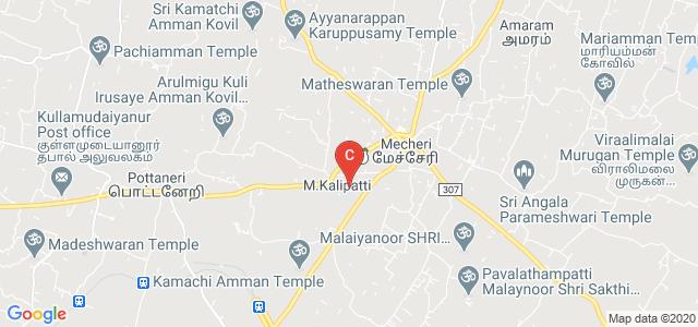 The Kavery Educational Institutions, Thoppur-Mettur Dam-Bhavani-Erode Road, M.Kalipatti, Salem, Tamil Nadu, India