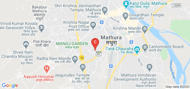 Anandpuri, Mathura, Uttar Pradesh, India