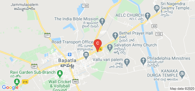 BAPATLA WOMEN'S ENGINEERING COLLEGE, Srinivas Nagar, Bapatla, Andhra Pradesh, India
