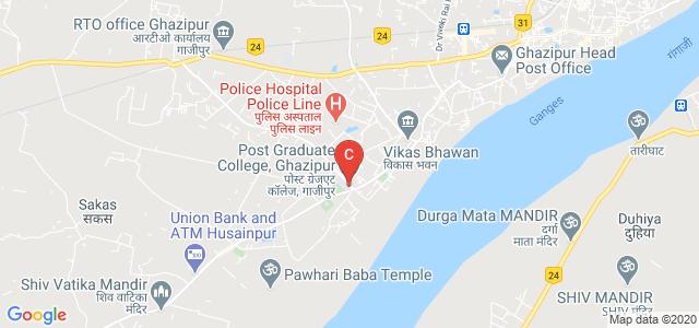 Post Graduate College, Ghazipur, Ghazipur, Uttar Pradesh, India